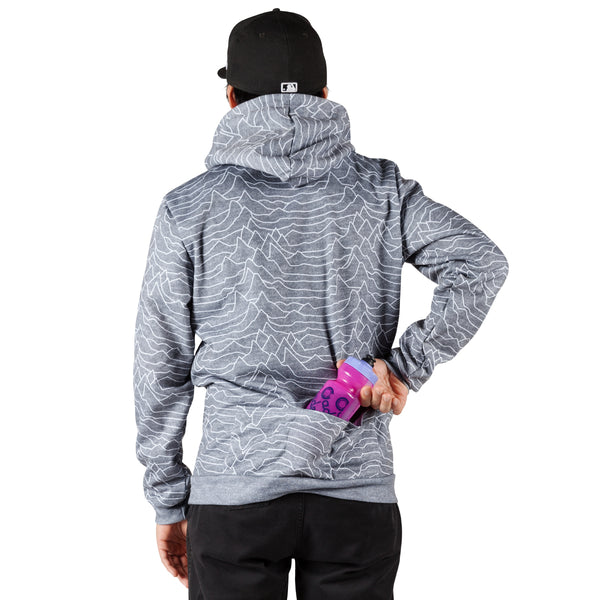 Pulsar Pull Over Hoodie - Heather Grey