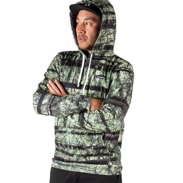 Reel Camo Pull Over Hoodie