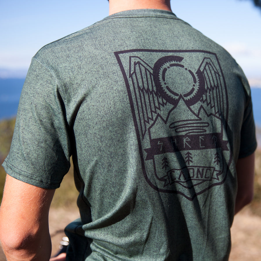 Gemini Adventure T-Shirt - Heather Army