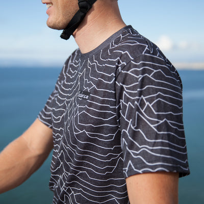 Pulsar Adventure T-Shirt - Heather Black