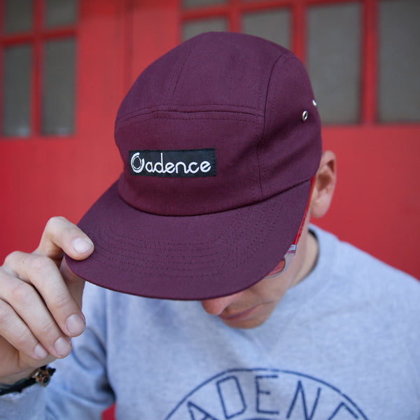 Finn 5-Panel Hat - Burgundy