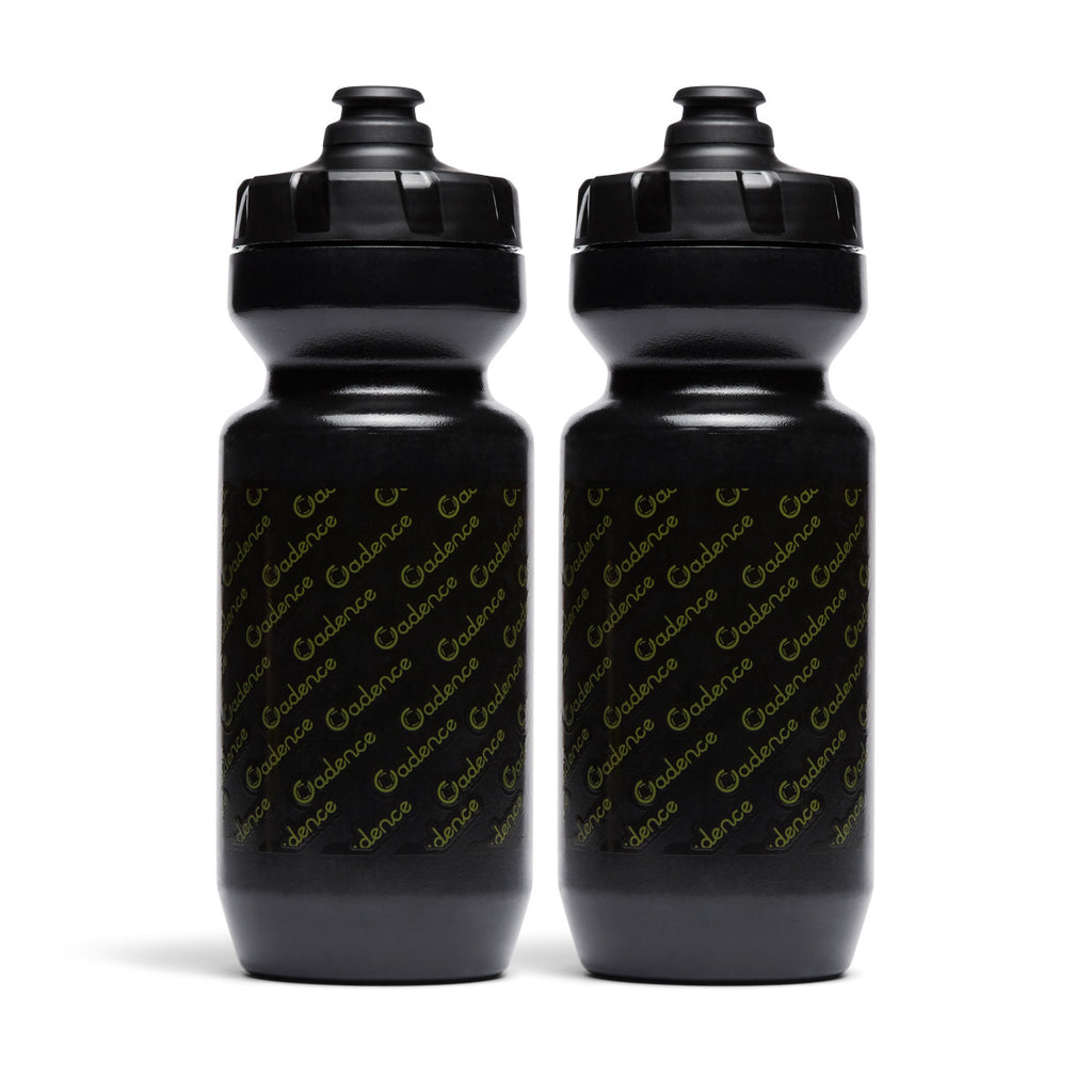 Come Again Water Bottle - Black - Two Pack