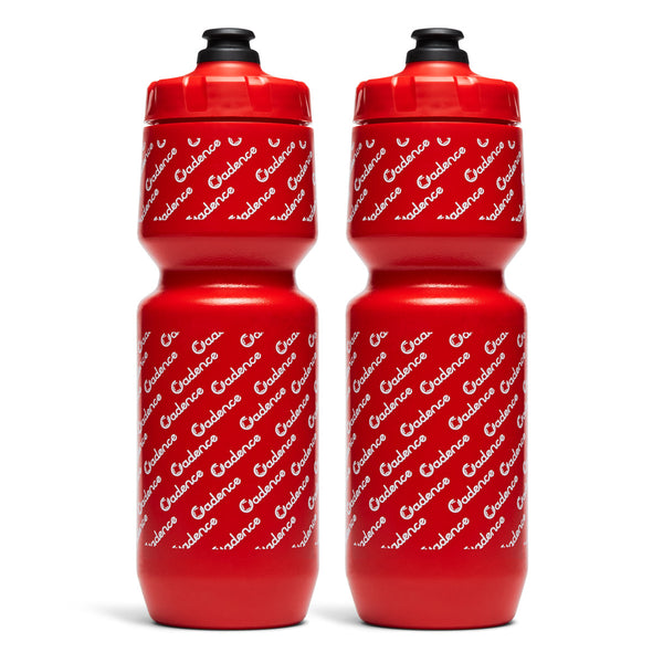 Come Again Water Bottle - Red - Two Pack
