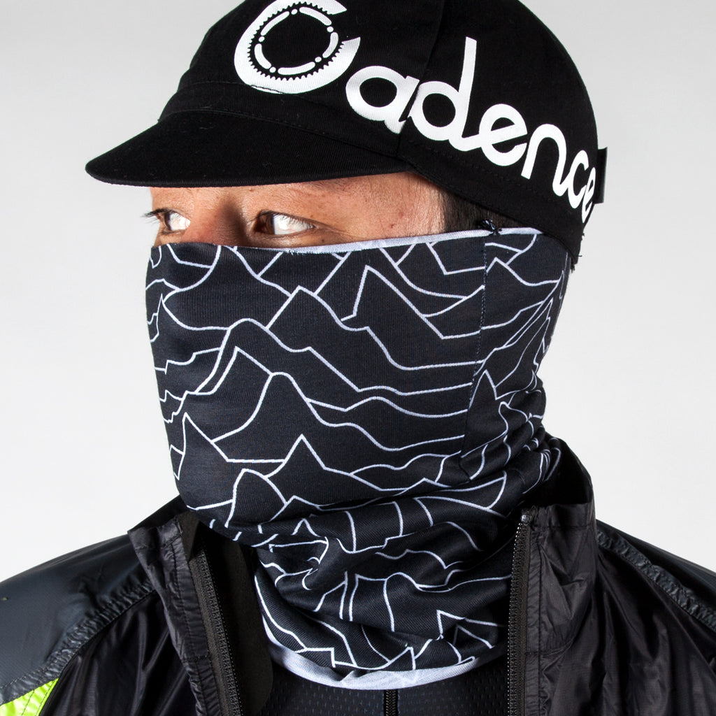 Pulsar Neck Gaiter - Black