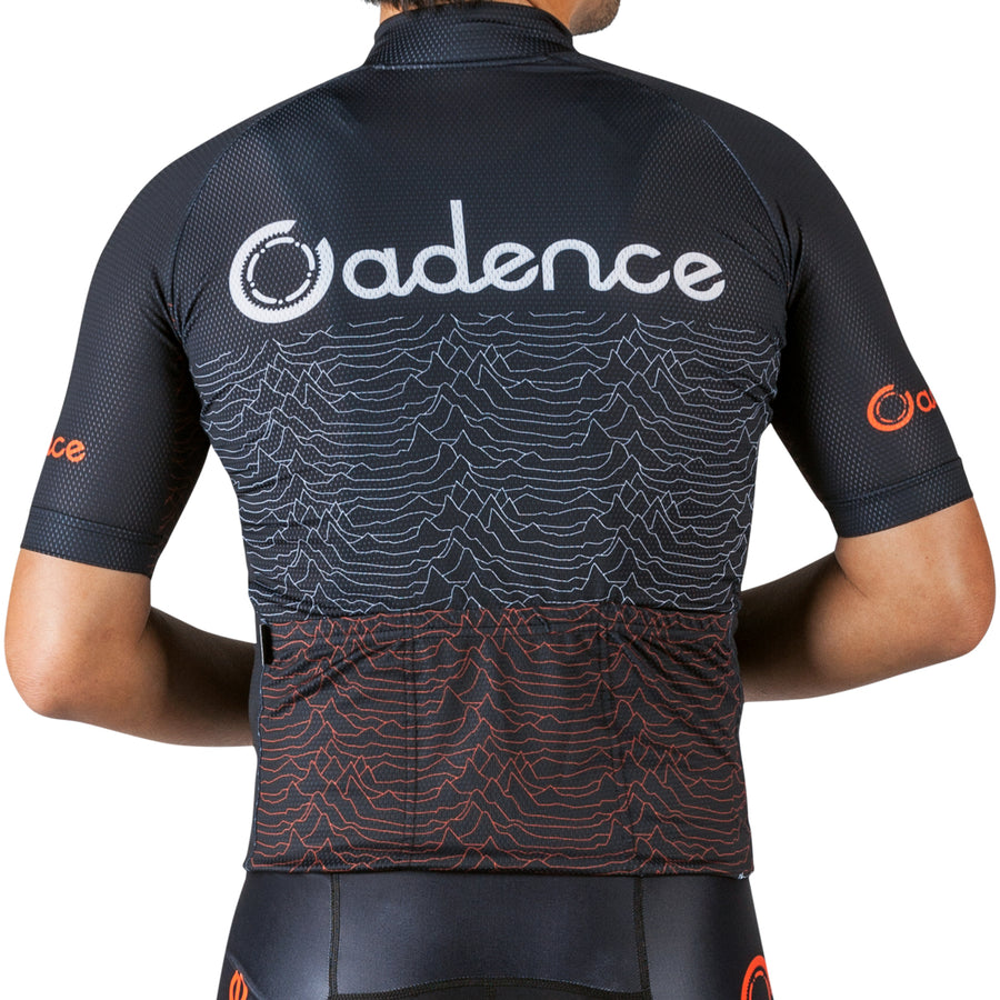 Pulsar 3.0 Jersey - Black/Orange-Sale