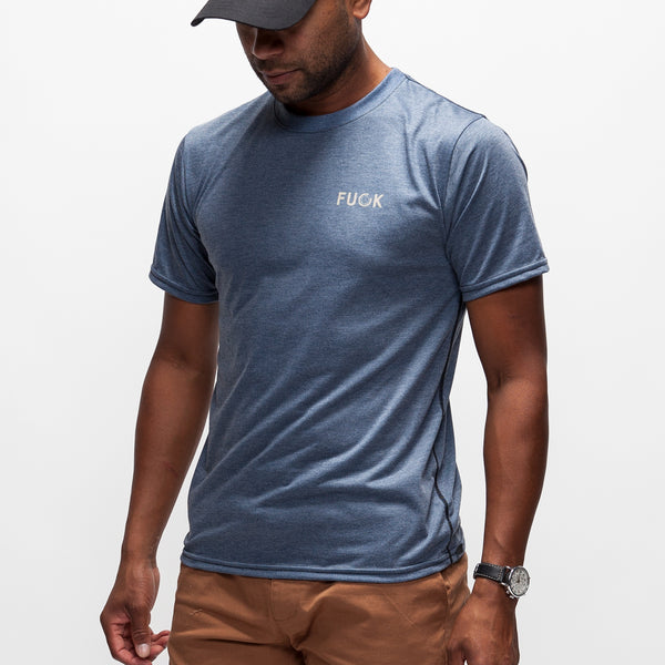 FUCK Adventure T-Shirt - Navy