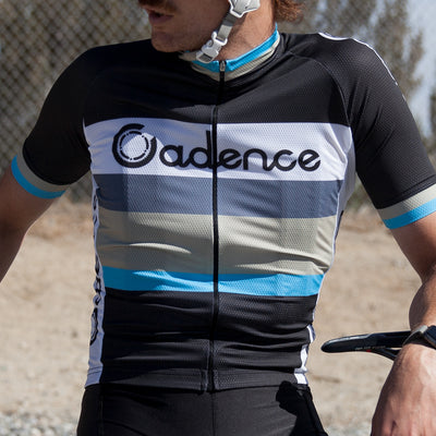 Conqueror Jersey - Black/Blue/Gold