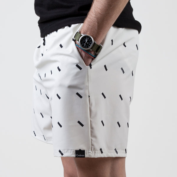Lewitt Swim Shorts - Cream
