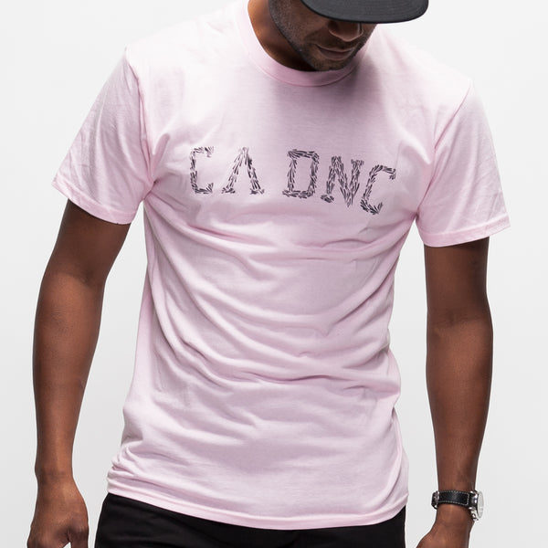 Marine Brush T-Shirt - Pink