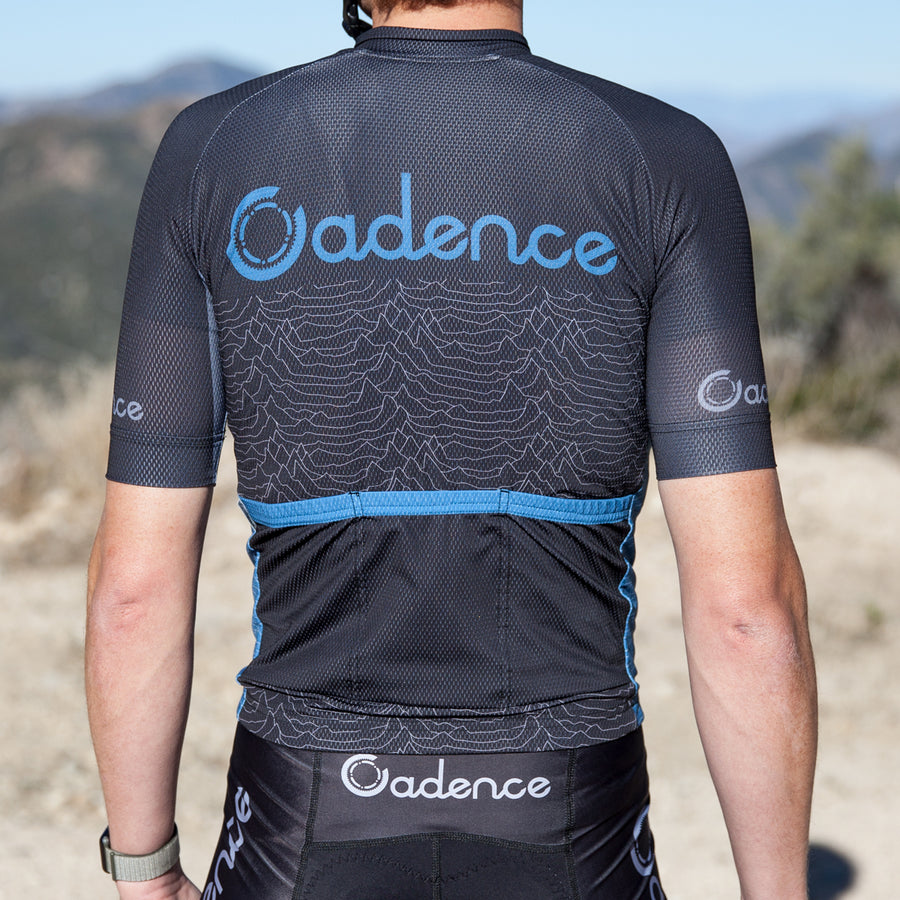 Pulsar 3.0 Jersey - Black/Blue-Sale