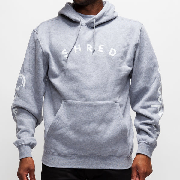 Shred Hoodie - Athletic Heather