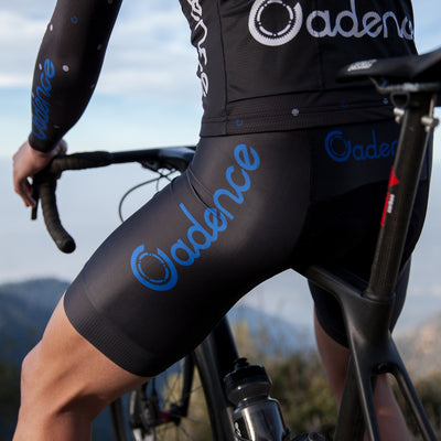 Team 2.0 Bib Short - Black/Blue