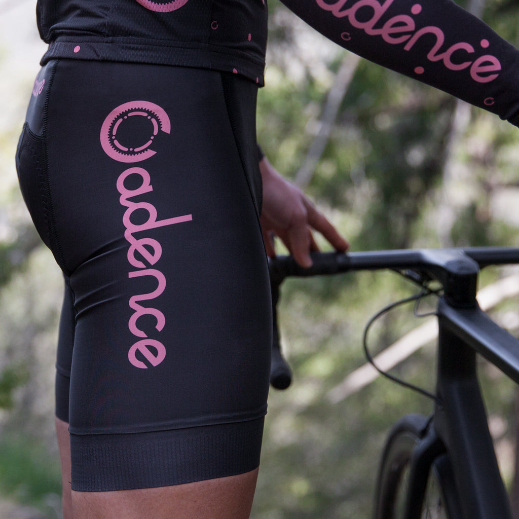 Team 2.0 Bib Short - Black/Pink