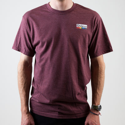 Tripper T-Shirt - Burgundy Heather