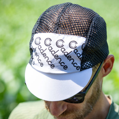 Faded Mesh Cap - White