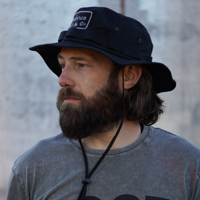 Get Lost Adventure Hat - Black