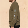 Alpine Tactical crew neck - Army Green