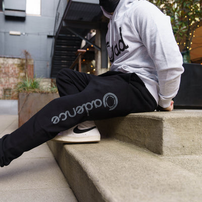 Formula Collection Joggers - Black/Reflective Logo