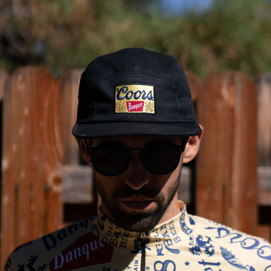 Coors Banquet 5-Panel Hat - BLACK