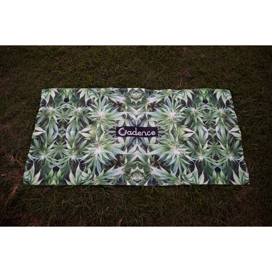 Cannabis Camo Towel