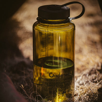 Get Lost Bottle - 32oz Wide Mouth Nalgene - Olive