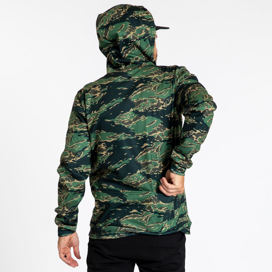 Pull Over Hoodie - Tiger Camo