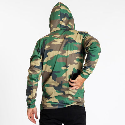 Pull Over Hoodie - Hunter Camo