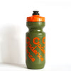 Faded Water Bottle - Olive/Orange