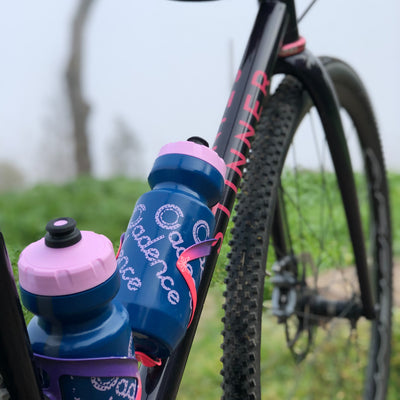 Faded Water Bottle - Blue/Pink