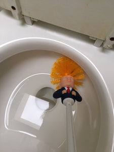 Commander in Crap™ Trump Toilet Brush