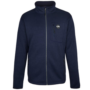 Men's Knit Fleece Jacket Navy