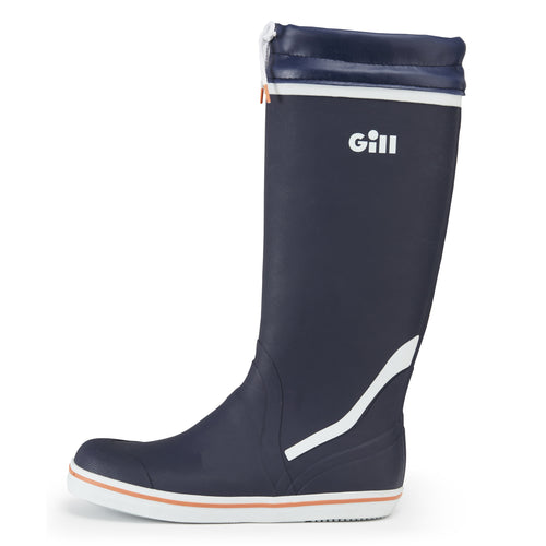 Tall Yachting Boots Dark Blue