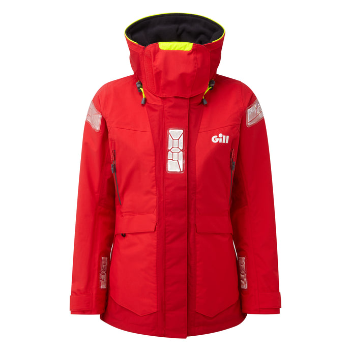 OS2 Offshore Women's Jacket Red/Bright Red