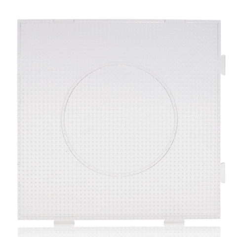 Artkal - Large Square Linkable Pegboard - 2.6mm Mini - White