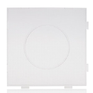 Artkal - Large Square Linkable Pegboard - 2.6mm Mini - Clear