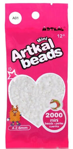 Artkal Beads - Soft - A01 - White