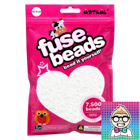 Artkal Beads - Soft - A01 - 7500 - White