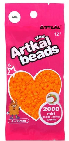 Artkal Beads - Soft - A04 - Yellow Orange
