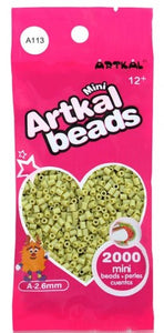 Artkal Beads - Soft - A113 - Light Green-Gray