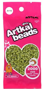 Artkal Beads - Soft - A115 - Earth Green
