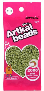 Artkal Beads - Soft - A116 - Sage Green