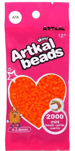 Artkal Beads - Soft - A16 - Bright Carrot