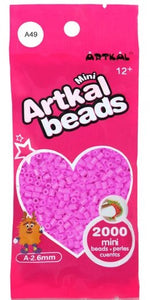 Artkal Beads - Soft - A49 - Raspberry Pink