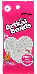 Artkal Beads - Soft - A87 - Ghost White