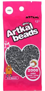 Artkal Beads - Soft - A90 - Charcoal Gray