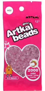 Artkal Beads - Soft - AG2 - Glow-in-the-Dark Pink