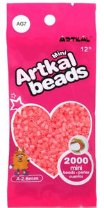 Artkal Beads - Soft - AG7 - Glow-in-the-Dark Red
