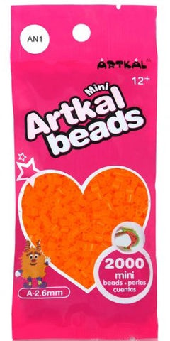 Artkal Beads - Soft - AN1 - Neon Orange