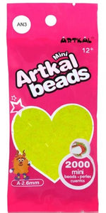 Artkal Beads - Soft - AN3 - Neon Yellow