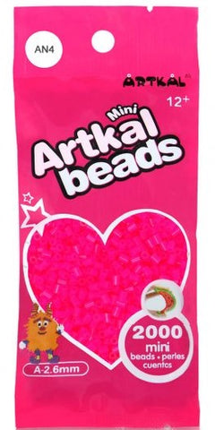 Artkal Beads - Soft - AN4 - Neon Pink